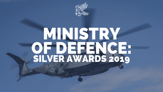 Ministry of Defence: Silver Awards 2019