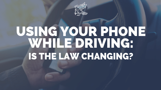 Using Your Phone While Driving: Is The Law Changing?