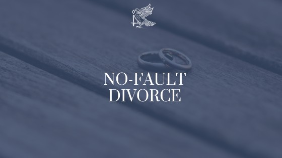 No Fault Divorce Legislation