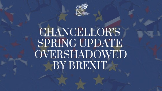 Chancellors Spring Update Overshadowed By Brexit