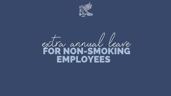 Employer Offers Extra Annual Leave to Non-Smoking Employees