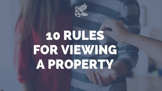10 Rules For Viewing A Property