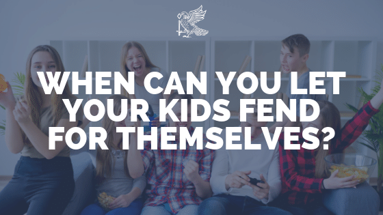 When Can You Leave Your Children Home Alone?
